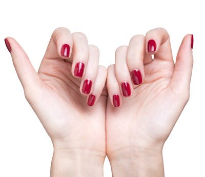 re-shellac removal and re-application manicure
